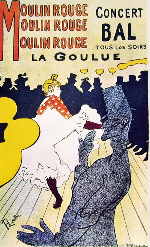 13 Toulouse-Lautrec - Molin Rouge - la Goulue